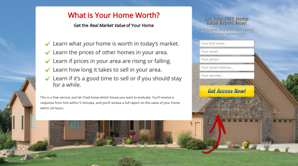 Landing Page Example 5