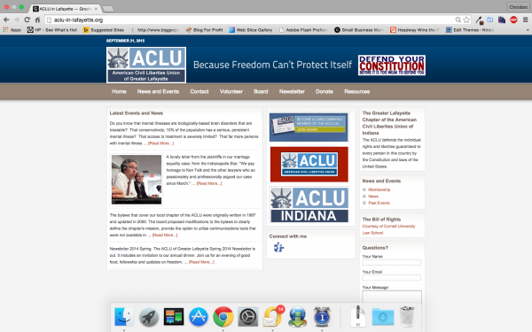 ACLU in Lafayette